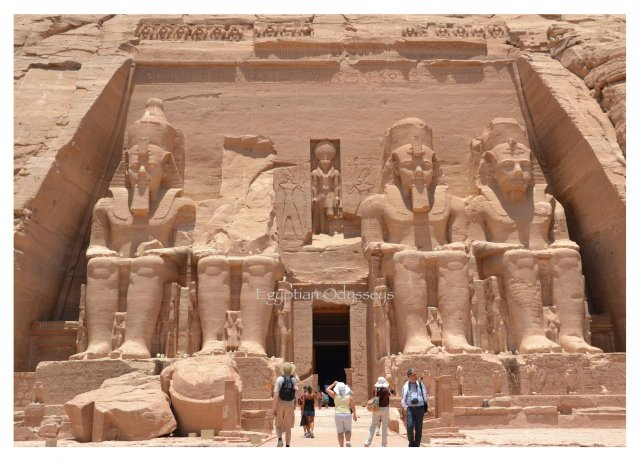 Abu Simbel: the Temple of Ramesses II