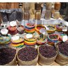 Luxor, Karnak Temple: spices for sale at the markets